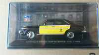 "DIE CAST ""CHRYSLER DIESEL TAXI DE BARCELONE 1980 "" SIMCA COLLECTION  SCALA 1/43"