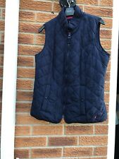 Navy Quilted Joules jacket coat Gillet 14