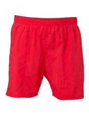 - Speedo Men's Solid Leisure Water Shorts Scarlet Medium