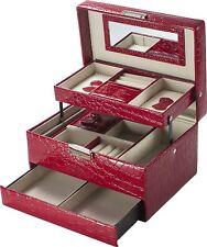 Cheri Bliss BF11976 by Barska Jewelry Case, 8.75 x 6.2 x 5-Inch