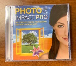 Nova Development Corel Ulead PhotoImpact Pro 13 with digital manual