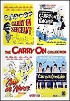 Carry On Collection Vol.1 [Sergeant / Teacher / Nurse / Constable] [DVD]