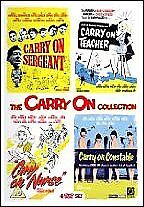 Carry on Collection Volumes 1 to 4 Disc Set - DVD Quick Post for