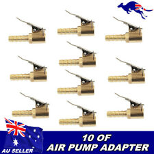 10x Quick Release Air Chuck AIR CHUCK Air COMPRESSOR TO CLIP ON TYRE CHUCK