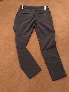 Swrve Softshell Trousers NWOT Winter Weight - Dark Grey 30 Men's Slim Fit