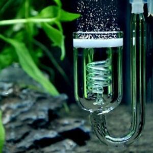 Aquarium CO2 Diffuser Fish Tank Plants Moss Carbon Dioxide Atomizer Reactor