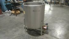100 Gallon Stainless Steel Mixing Tank
