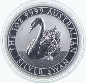 2018 Australia $1 - 1 Oz. Silver Swan *591