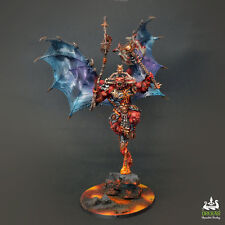 BLOODTHIRSTER Daemons Of Khorne warhammer - 40K * COMMISSION *  painting