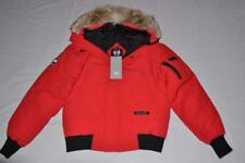 CANADA GOOSE MEN'S CHILLIWACK BOMBER JACKET RED ROUGE L LARGE AUTHENTIC NEW