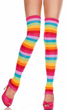 Music legs Rainbow Thigh High Leg Warmers