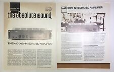 Original NAD 3020 Integrated Amplifier Promotional Material 1981