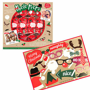6 Pack Novelty Game Christmas Crackers - Photo Props