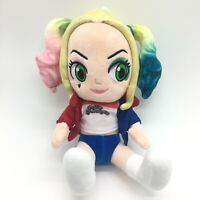 Suicide Squad Harley Quinn Plush Toy Soft Doll DC Hero 25cm Kids Xmas Gift New