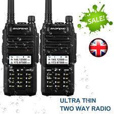 2* Baofeng A58S Walkie Talkie Tri-Band UHF VHF 10W 128CH VOX 10KM Interphone DCS