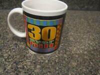 """Over The Hill"" 30 Birthday Coffee Tea Mug"