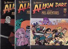 THE RETURN OF ALISON DARE LITTLE MISS ADVENTURES #1-#3 SET (NM-)