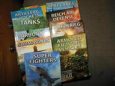Weapons of War 5 DVDs, Discovery Channel - Tanks, Airborne, Submarines, Superfig