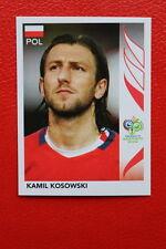 PANINI FIFA WORLD CUP GERMANY 2006 06 N. 63 POLSKA KOSOWSKI MINT!!!