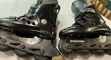 New listing Roller Derby The Rail In Line Skates Rollerblade Rolling Sz 6 PreOwned Men/Kids