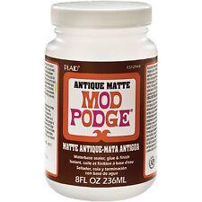 Mod Podge Base enduit, colle, et finition, transparent mat ancien 2 pots