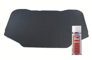 Hood Insulation Mat For Mercedes W126 S-CLASS & Liqui Moly Glue