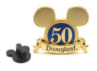 Disney Pin Mickey Ears Disneyland 50th Anniversary