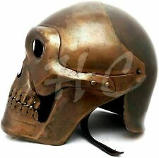 Antique Medieval Medieval Skeleton Armour Helmet Viking Mask Spectacle Helmet