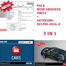 WOW 50012 + AUTOCOM + DELPHI 2016.0 SOFTWARE 2019 MULTILINGUA
