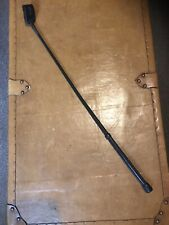 "Loveson Black Leather Riding Whip.29""."