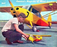 "Vintage AERONCA CHAMP PLAN With All Patterns for a 1/2A 48"" RC Model Airplane"