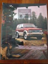 Isuzu Trooper brochure 1996 USA market