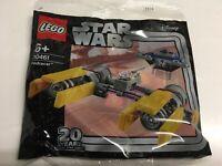 LEGO® Star Wars POLYBAG 30461 Podracer - 20 Jahre Star Wars Jubiläumsedition NEU