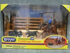 Breyer NEW * Cutting Horse Set * 5374 Appaloosa Calf Stablemate Model Horse