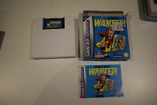 lucky luke wanted wanted! game boy advance gba ds en boite