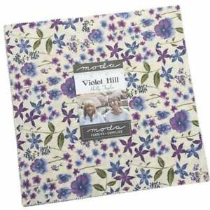 Moda Violet Hill Layer Cake By Holly Taylor Fabric Quilting Sewing Craft