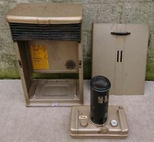 Vintage Valor model 12D Paraffin Kerosine Oil Heater, instructions inside.