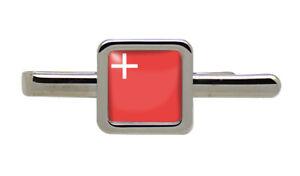 Schwyz (Switzerland) Square Tie Clip