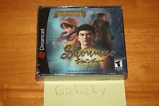 Shenmue Limited Edition w/CD (Sega Dreamcast) NEW SEALED NEAR-MINT, VERY RARE!