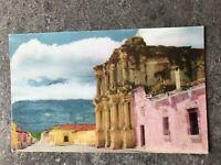 Vintage Postcard Antigua Guatemala