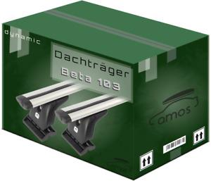 Dachträger für Mercedes C-Klasse C203 Coupe 01-06 130cm Aluminium 75kg AMOS