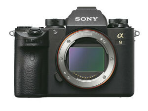 Sony ILCE9B Alpha A9 Full Frame Mirrorless Camera Body Only - Black