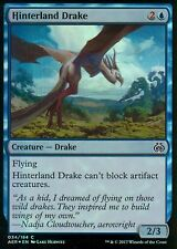 Detrás de país Drake foil | nm | Aether revolt | Magic mtg