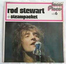 LP 33 TOURS ROD STEWARD + STEAMPACKET... FACE AND PLACE VOL 6 BGY 529906 TBE