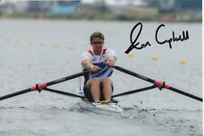 ALAN CAMPBELL HAND SIGNED GREAT BRITAIN 6X4 PHOTO LONDON 2012 4.