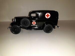 Ertl 1932 Ford Model B Panel Delivery Red Cross Bank NIB VHTF