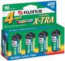 Fuji Superia X-TRA ISO 400 ASA 35mm Film/ 24 Exp-4 Pack - EXP 2019