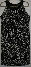Womens Size 14 Dress by Jessica Howard - black & white floral - sleeveless