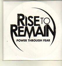 (CW255) Rise to Remain, Power Through Fear - 2011 DJ CD