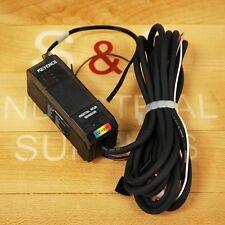 Keyence CZ-V21P Photoelectric Digital RGB Amplifier PNP, 24VDC Class 2 - USED